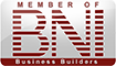 Member of BNI Business Builders